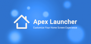 Apex Android Launcher for phones and tablets 2017