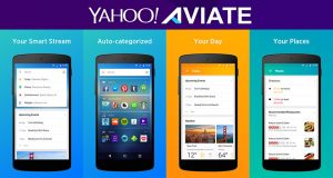 Yahoo Aviate Android Launcher for phone and tablet 2017