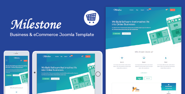 Milestone multi purpose joomla template