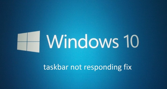 taskbar not working windows 10