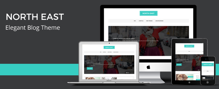 North East Blog Theme – Fast Loading WordPress Theme