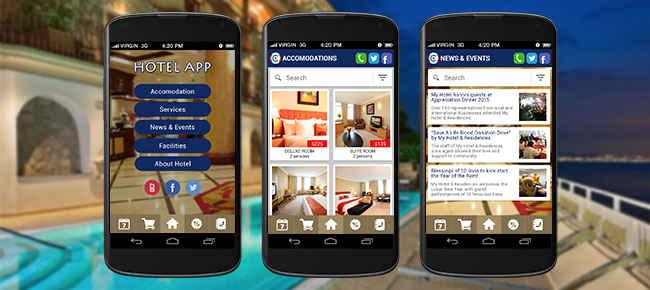 hotel booing android app