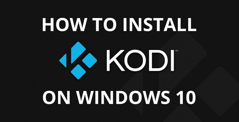 kodi on windows