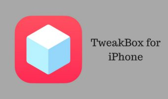 Download and Install TweakBox for iPhone/iPad without Jailbreak