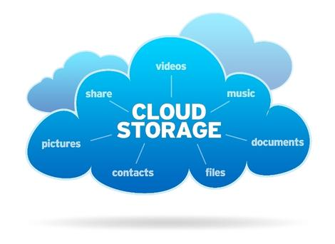 cloud storage for online data storage