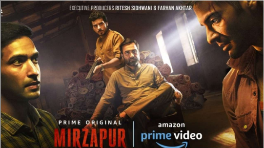 Mirzapur indian hindi web series