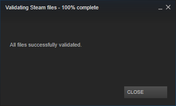 validate steam file