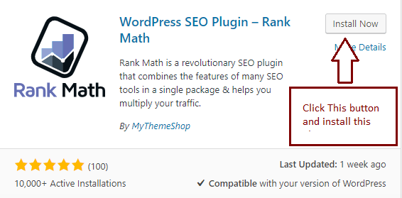 Rank Math (Best WordPress SEO Plugin)